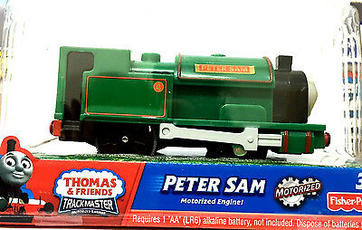 Thomas & Friends Trackmaster Peter Sam Single Loco Motorized Train (Rare Retired