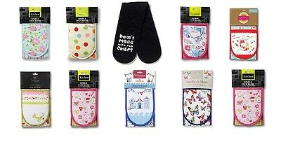 Cooksmart Double Oven Gloves - 11 Designs