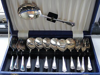 Silver Plated, Antique Dessert Service For 6, Game Of Thrones, Great Condition