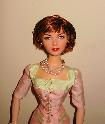 """OOAK Shirley Maclaine 16"""" Doll With Photograph And Extra Outfit"""