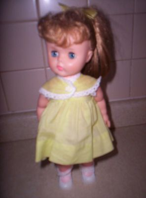VINTAGE HARD PLASTIC HORSMAN DOLL WITH PONYTAIL 13 INCHES EXCELLENT CONDITION