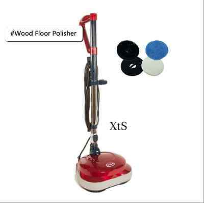 Wood Floor Polisher Tile Marble Scrubber Pro Buffer Machines LightWeight Cleaner