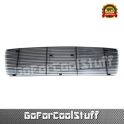 For Toyota Tundra Fit Fits 2007 2008 2009 Black Upper Billet Grille Grill Insert