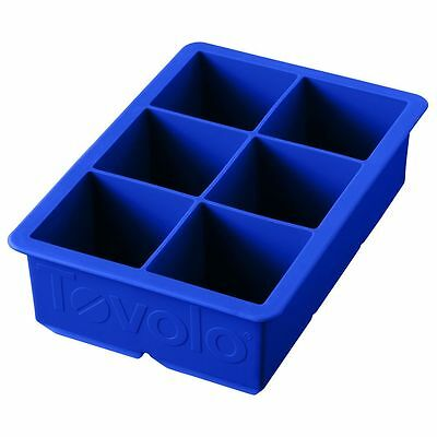 Tovolo Silicone King Cube Tray, Blue - 80-5521