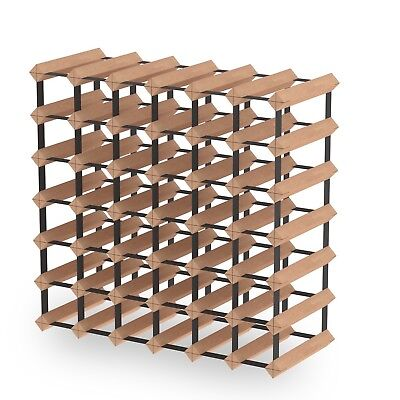 42 Bottle Timber Wine Rack - Fully Assembled & Delivered