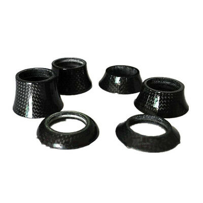 Bike Bicycle Cycling Stem Carbon Fiber Washer Headset Spacer 8.5/15/20/30/40mm
