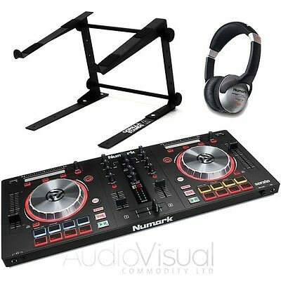 Numark Mixtrack Pro 3 Bundle With Gorilla Laptop Stand & Numark HF125 Headphones