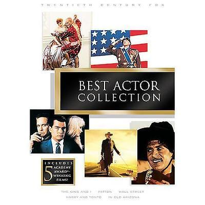 20th Century Fox:  Best Actor Collection (DVD, 2007, 5-Disc Set) New