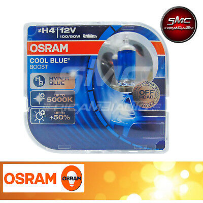 Autolampen Osram H4 5000K Weisses Licht - Cool Blue Boost White