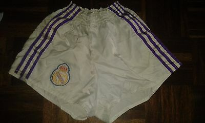 Real Madrid Adidas S 1980 Shorts Vintage Football Futbol Retro calzonas