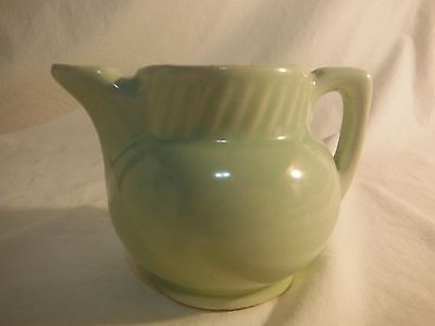 VINTAGE GREEN SALADA TEA USA HALL TEAPOT
