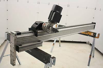 "RK Rose + Krieger Belt Driven Electric Linear Actuator with 2 Blocks 71"" Travel"