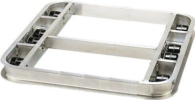 "Reinforced Flat Style Pallet Dollie 40"" x 48""  8 Rollers 6,000# ***FREE SHIPPING"