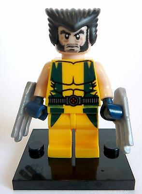 Wolverine Minifigure - new in bag - Lego compatible figurine figure x-men