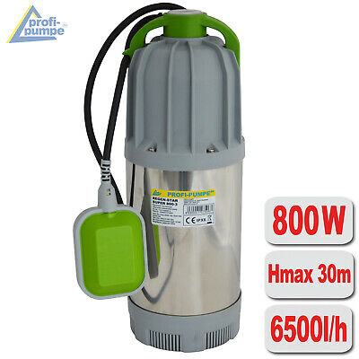 Submersible Pump Water Flood Clean Dirty Sewage Pressure Garden Pond Electric