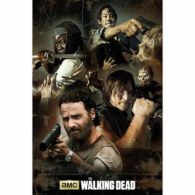 Maxi Poster The Walking Dead Collage