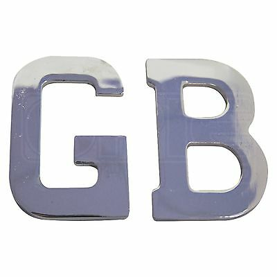 Self Adhesive GB Letters - GB1SS - Stainless Steel - Mountney Classic