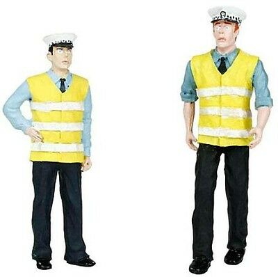 Bachmann 36-1041c Police & Security Staff x 2 Figures G Gauge - Tracked 48 Post