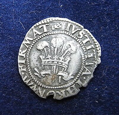 Charles I Half Groat Silver Hammered coin, 1638-42 Aberystwyth mint S.2902 Rare