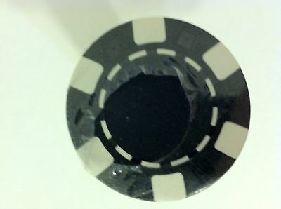 NEW!! Poker Chips Black and White (Set of 50)