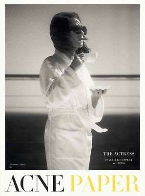 ACNE PAPER #15 The Actress ISABELLE HUPPERT Marine Vacth ALICIA VIKANDER @New@