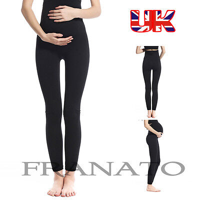 Franato Ladies Over The Bump Maternity Legging/ Jeggings For pregnant Women