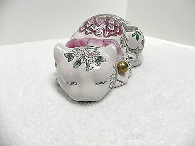 """Ceramic Laying Cat Statue Figure by """"Classic Traditions"""" A JCPenney Exclusive"""