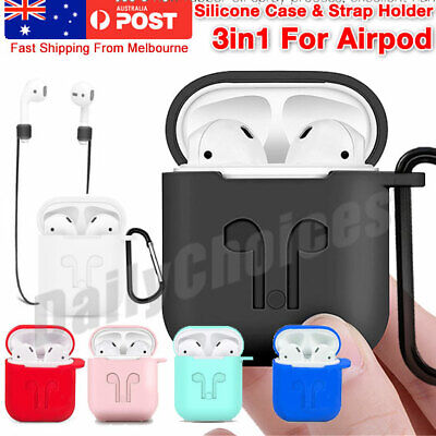 Shockproof For Apple Airpods 1 & 2 Case Cover Skin silicone Holder Airpod Case G