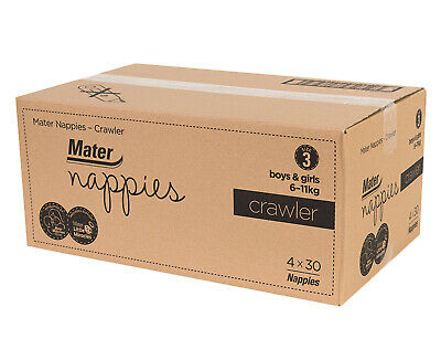 Crawler Nappies 120 Carton