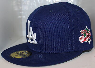 purchase cheap e7995 54402 MLB Los Angeles Dodgers 1988 World Series New Era 59Fifty Fitted Hat - Blue