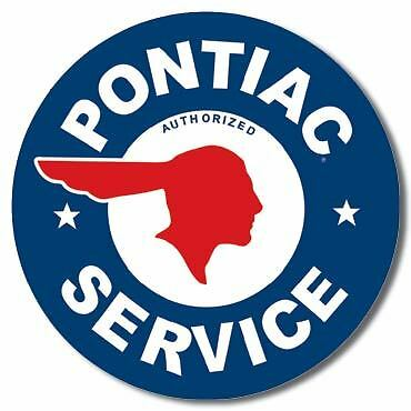 Pontiac Service Collectable Tin Metal Signs Combined Postage For 2+