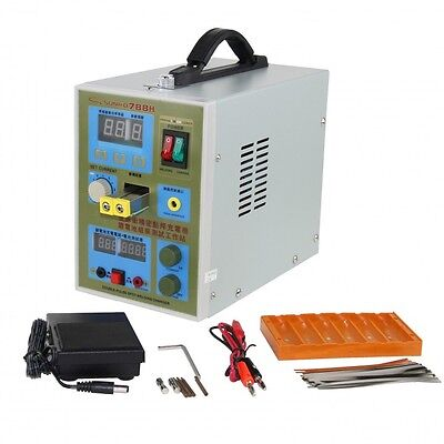 220V LED Pulse Spot Welder Battery Welding Machine Charger 800 A 0.1 - 0.2 mm