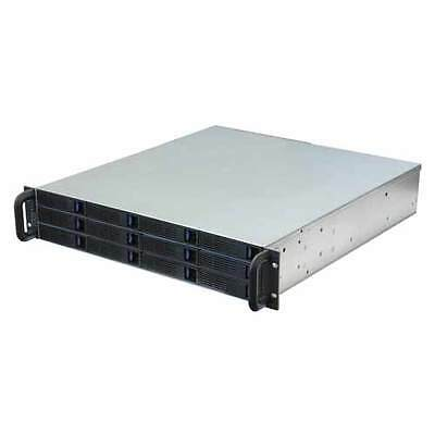 Norco External 2U 12x Hot-Swap Rackmount RAID / JBOD Enclosure DS-12D