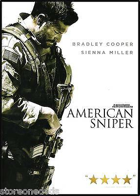 American Sniper DVD  Single Disc Edition BRAND NEW PREORDER 5/19
