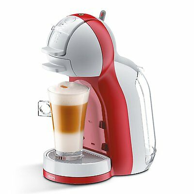 Krups Nescafe Dolce Gusto Automatic Mini Me Kp1205, Kp120540, Red & Grey