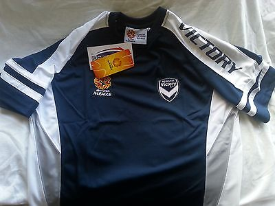 New Genuine Mens A-League Melbourne Victory Action Panel Shirt Jersey Many Sizes