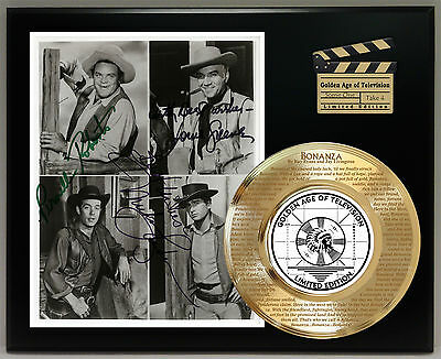 Bonanza #2 Limited Edition Signature And Theme Song Series Display