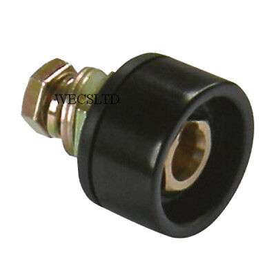 Dinse / Dinze Type Connector - WELDING PANEL Plug (Male) and Socket (Female)