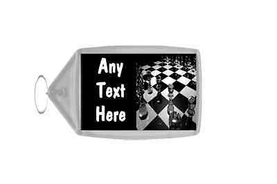 Chess Personalised Keyring