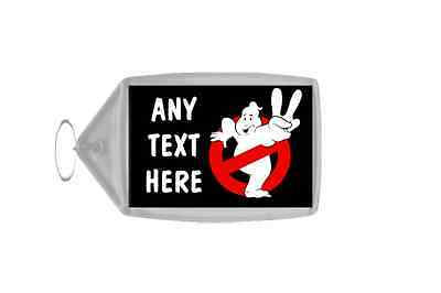 Ghostbusters Personalised Keyring