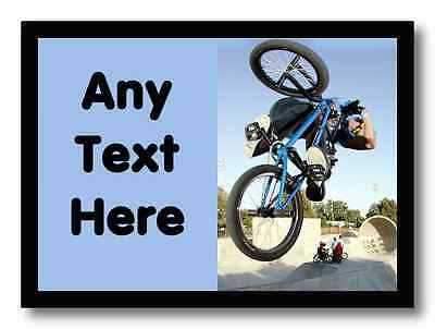 Bmx Bike Personalised Dinner Table Placemat