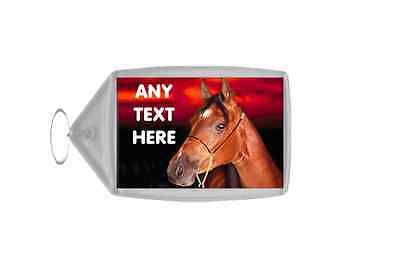 Red Horse Personalised Keyring