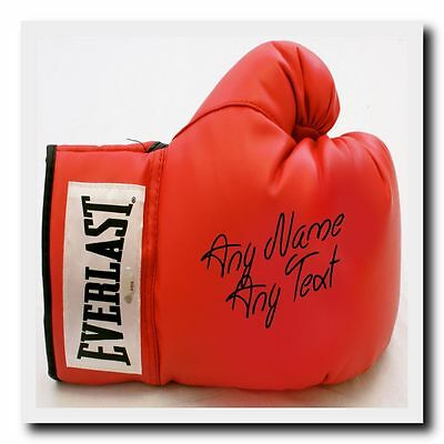 Boxing Glove Personalised Drinks Mat Coaster