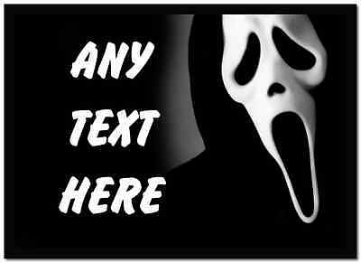 Scream Scary Personalised Dinner Table Placemat