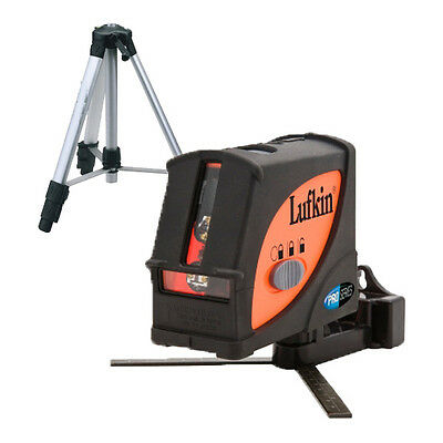 Lufkin LCL4SET Multi Line Laser Level Inc Tripod