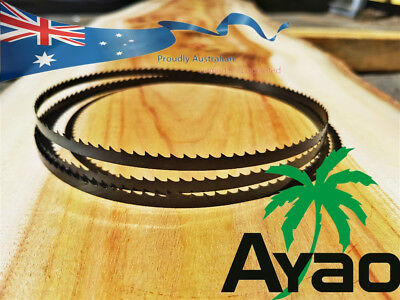 AYAO WOOD BAND SAW BANDSAW BLADE 3x 1400mm x 6.35mm x 6 TPI Premium Quality