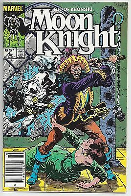 Marvel Comics MOON KNIGHT #4 October 1985
