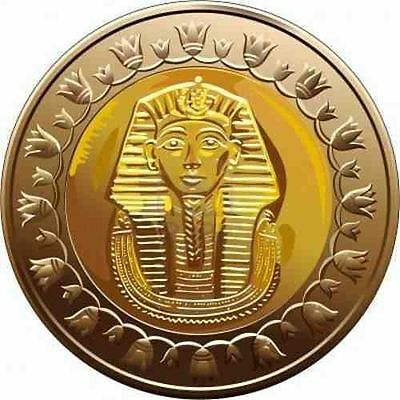 2010/2011 Egypt Египет Ägypten Coins Uncirculated conditions, King Tut , 1 Pound