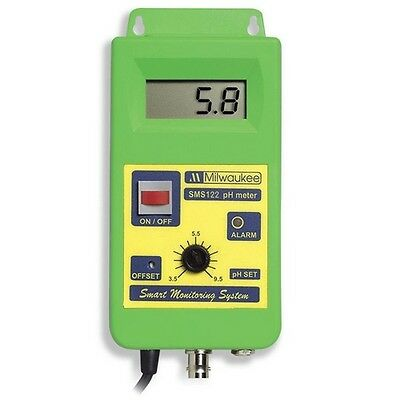Medidor Regulador / Controlador de pH Milwaukee 0 a 14 pH (SMS122)