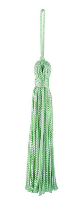 "Seafoam 3"" Chainette Tassels Jade Palace [Set of 10]"